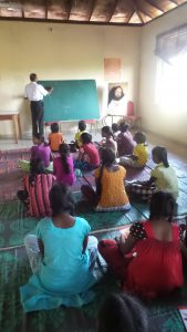 After school English Lessons from a volunteer teacher