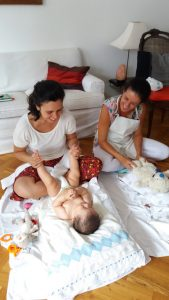Mother and Infant Massage